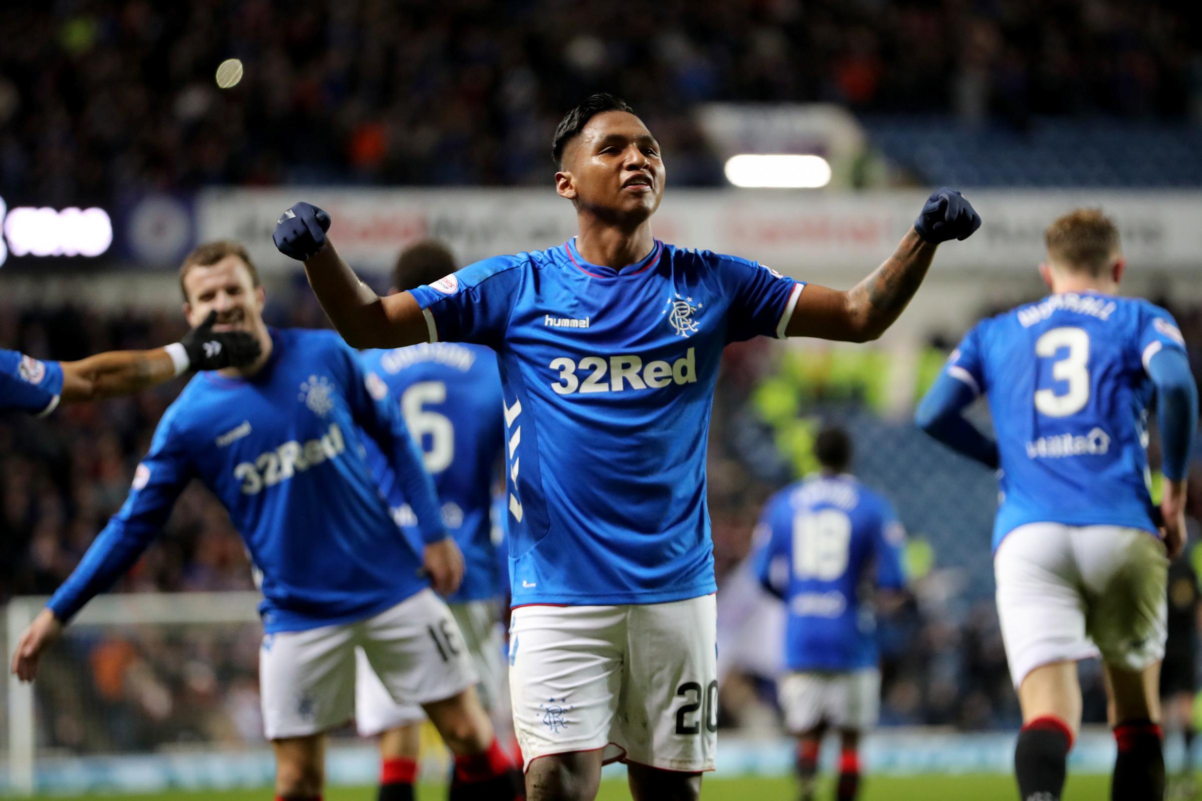 Rangers 5-0 Kilmarnock: Alfredo Morelos hits four as Steven Gerrard's side clinch quarter-final spot
