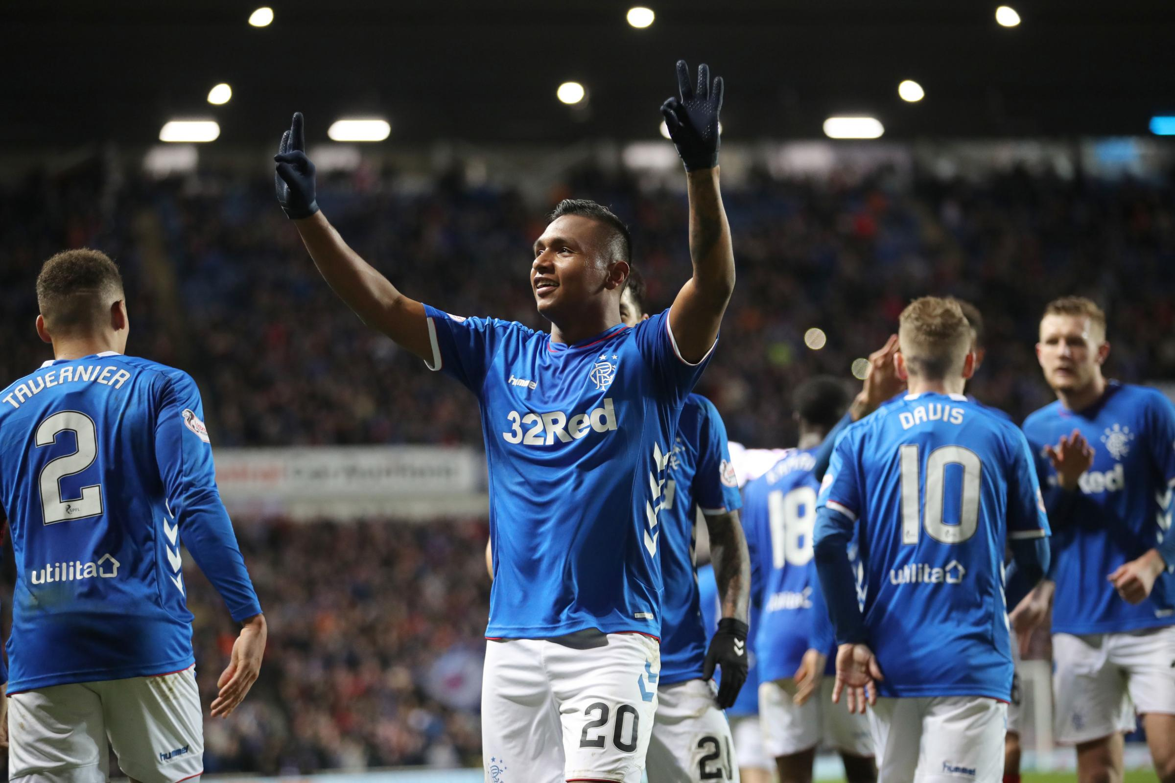 Ratings: Alfredo Morelos is the star man for Rangers in Scottish Cup win over Kilmarnock