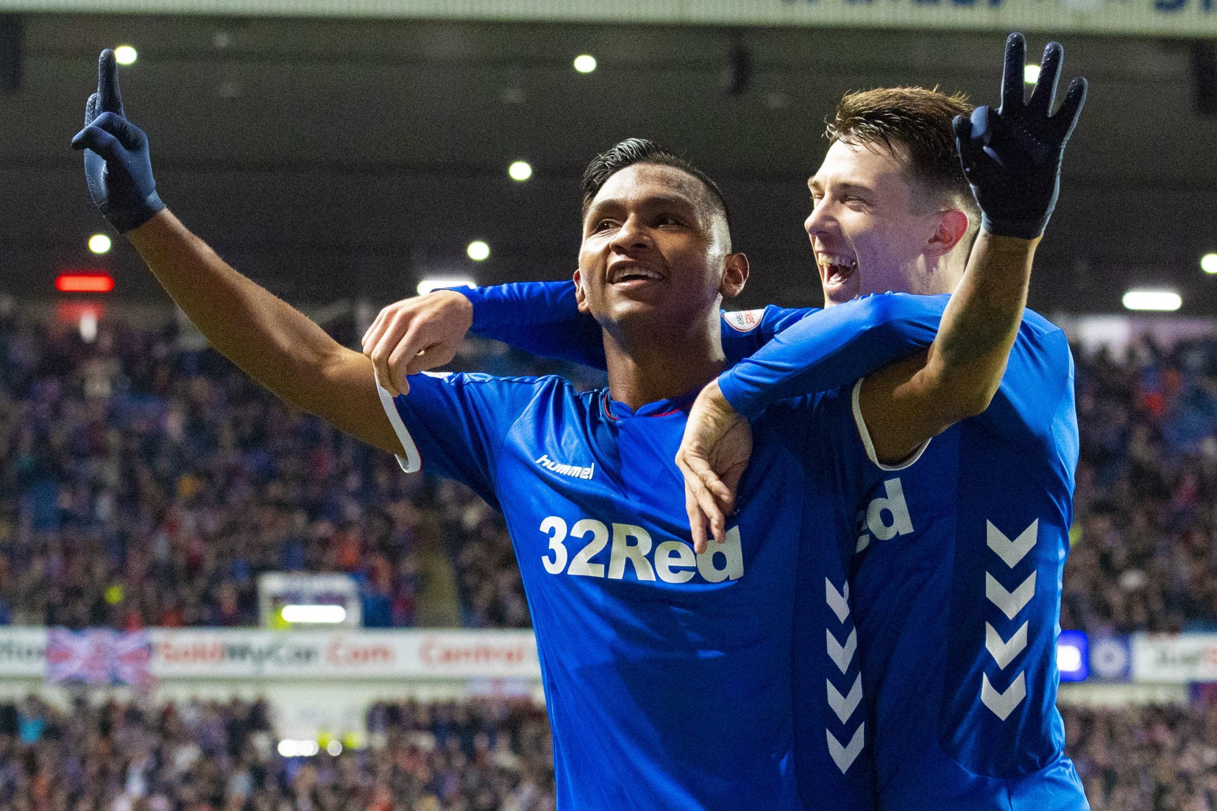 Ryan Jack hails Rangers' match-winner Alfredo Morelos as his four goals see off Kilmarnock