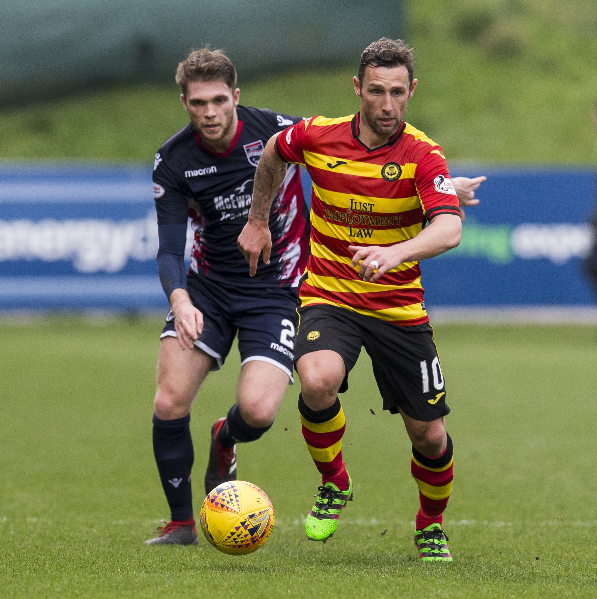 Scott McDonald is enjoying being back in professional football at Partick Thistle.