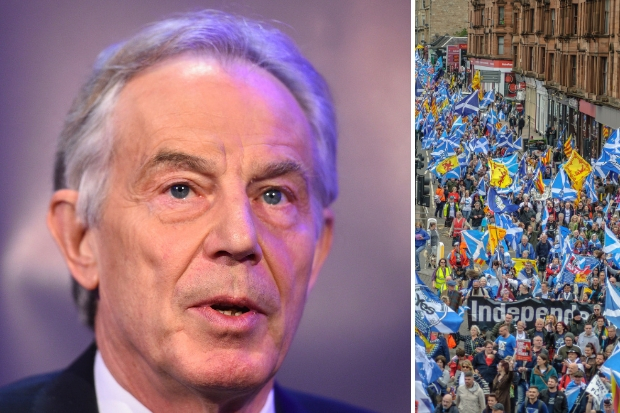 Tony Blair: Scotland might have been independent now - if it hadn't been for devolution