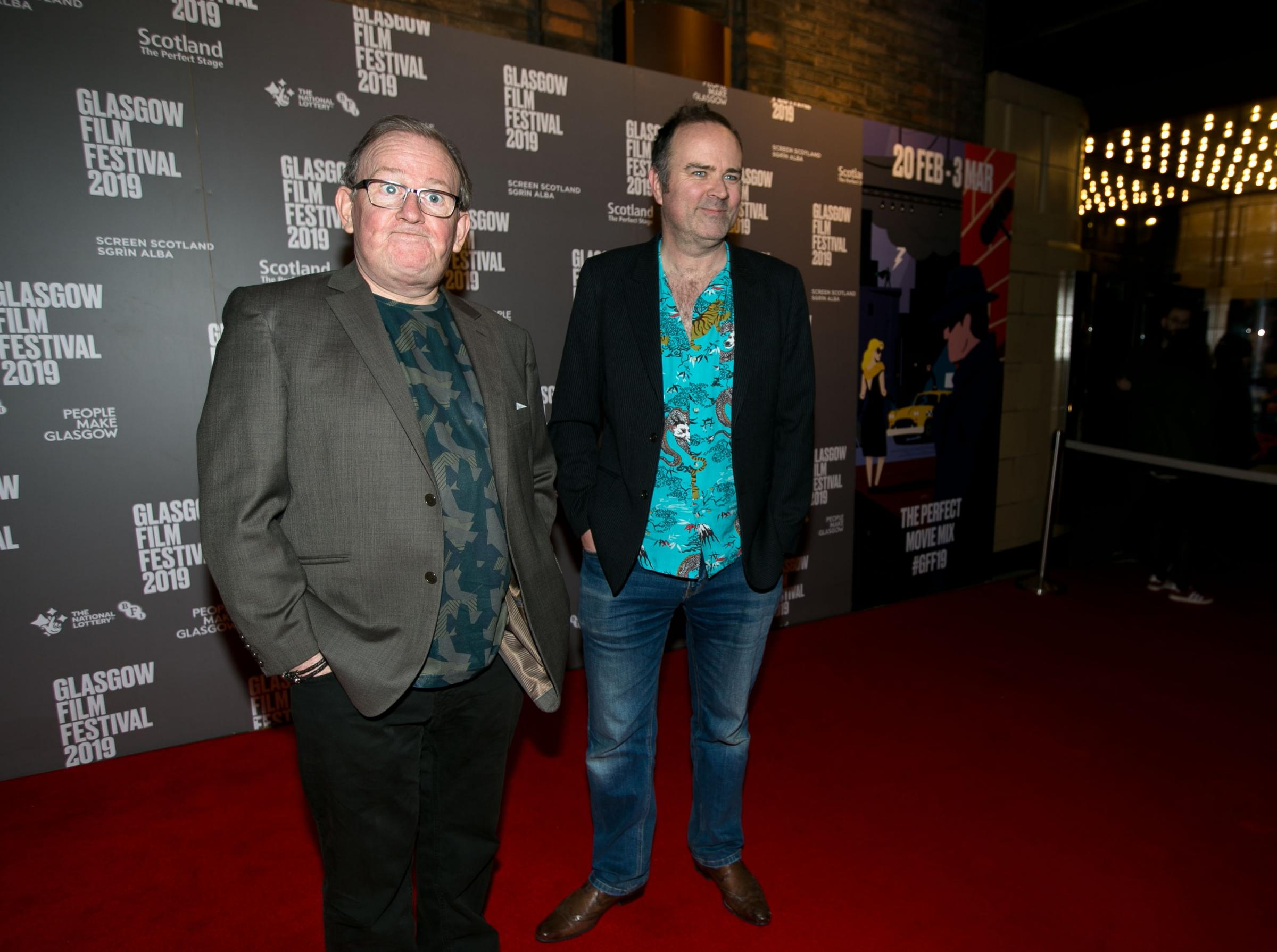 Special Glasgow Film Festival event attended by Still Game Stars