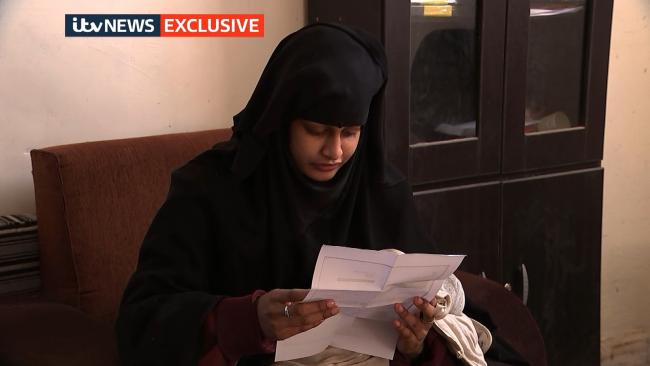 Shamima Begum family starts appeal against citizenship decision