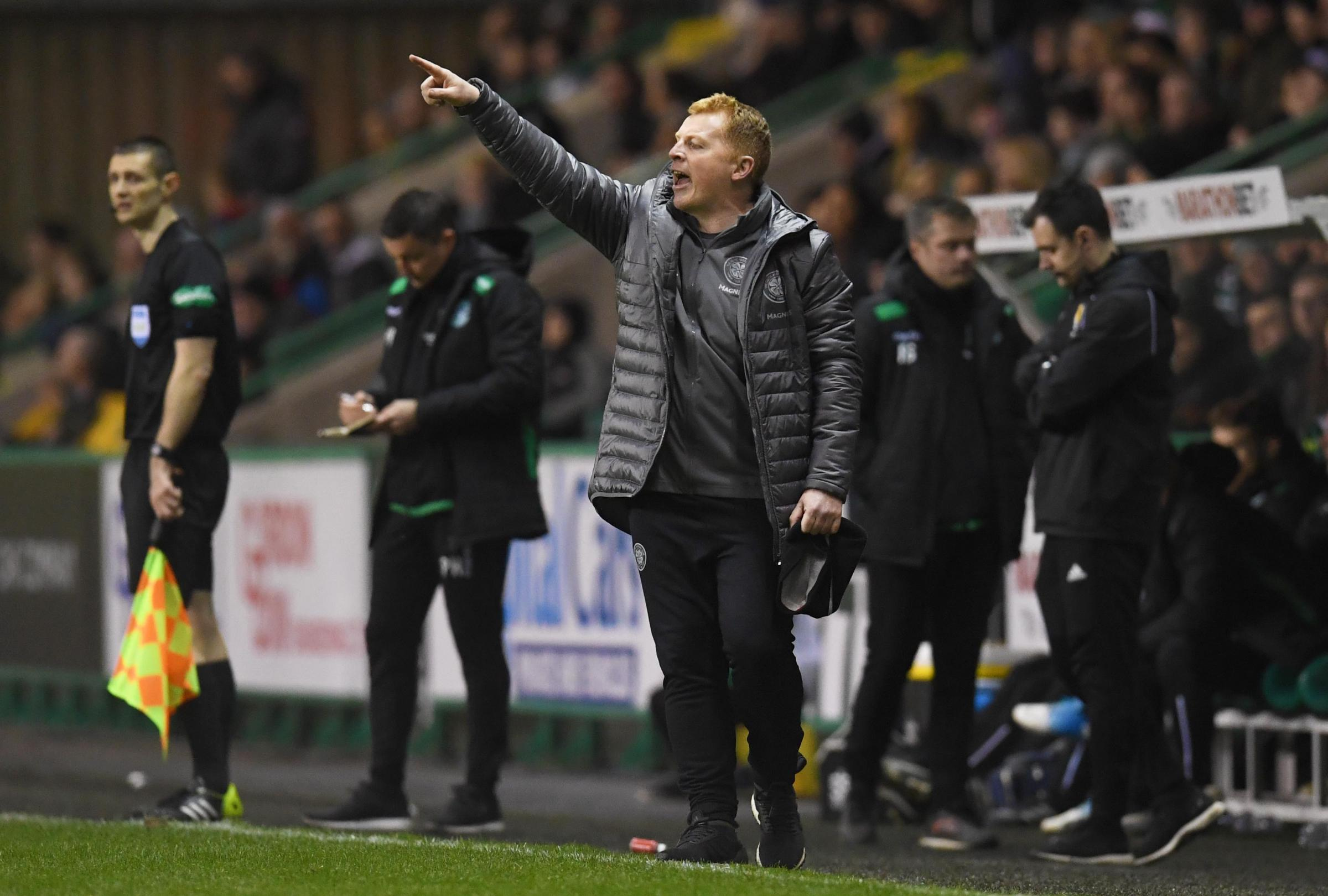 Neil Lennon says that Celtic can take inspiration from Ajax's European achievements PHOTO: SNS