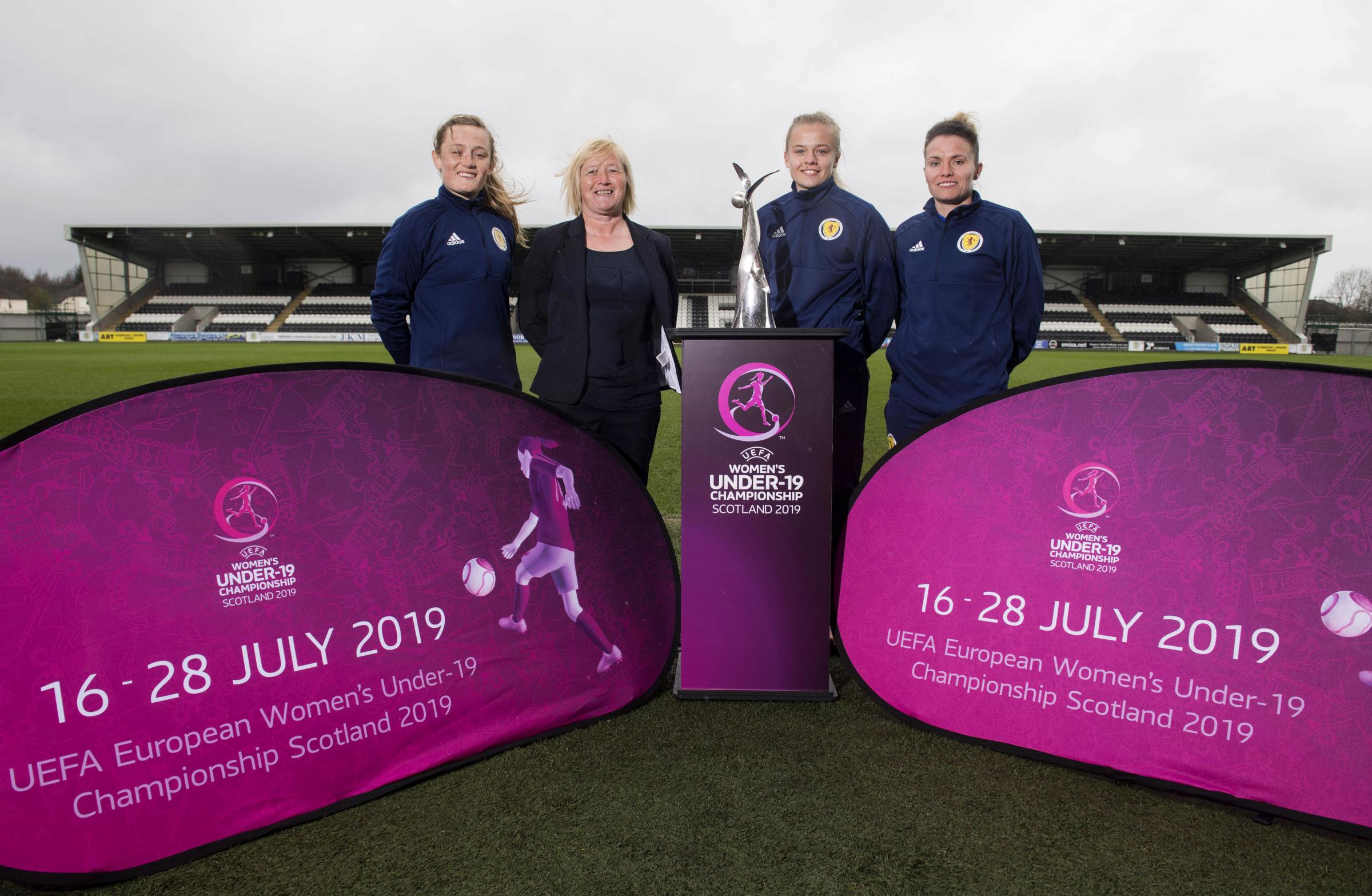 Glasgow's footballing talent launch UEFA Women's Under-19 Championship