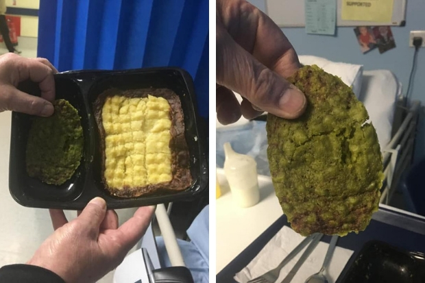 Glasgow man slams Queen Elizabeth University Hospital over state of meal served to uncle