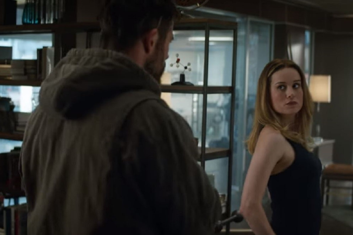 Captain Marvel meets Thor in latest Avengers: Endgame trailer