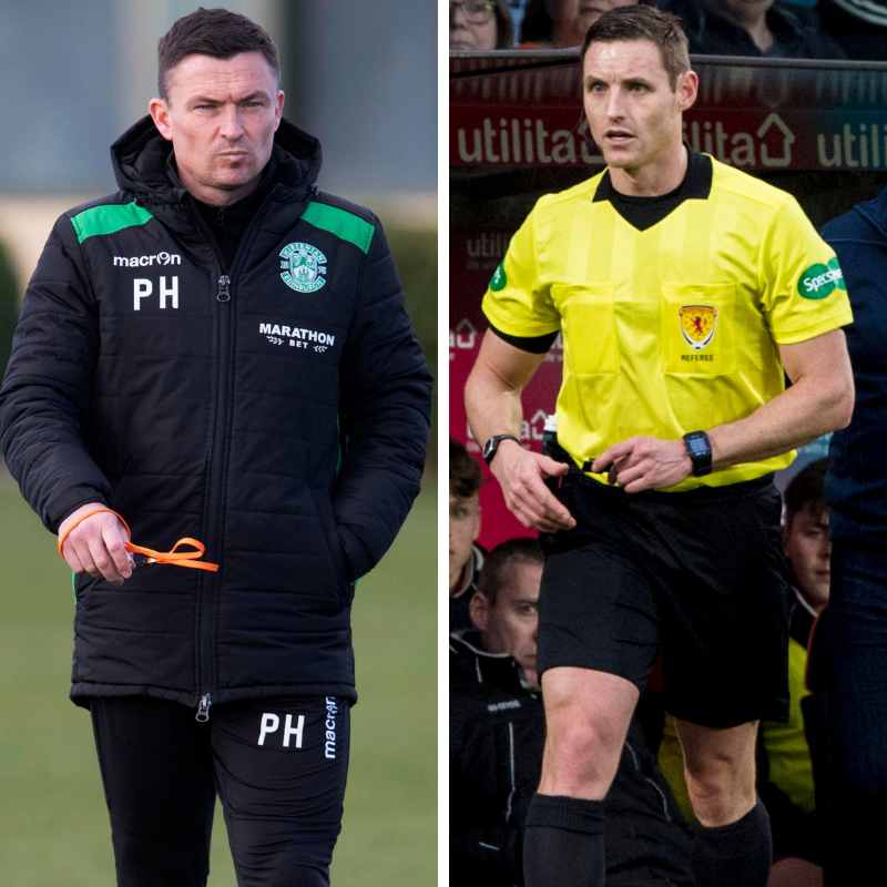 Paul Heckingbottom and Steven McLean