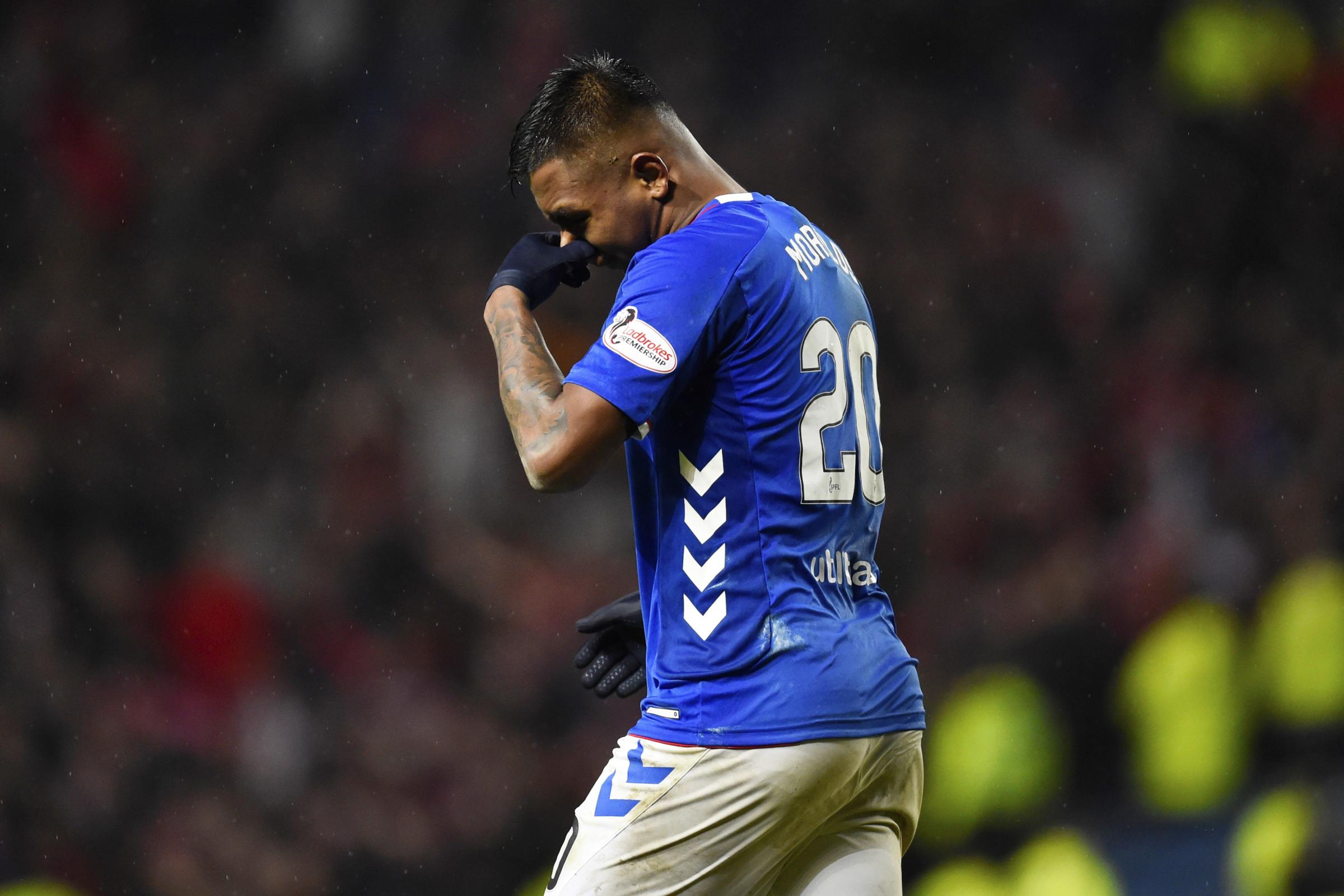 Rangers lose their appeal against Alfredo Morelos yellow card