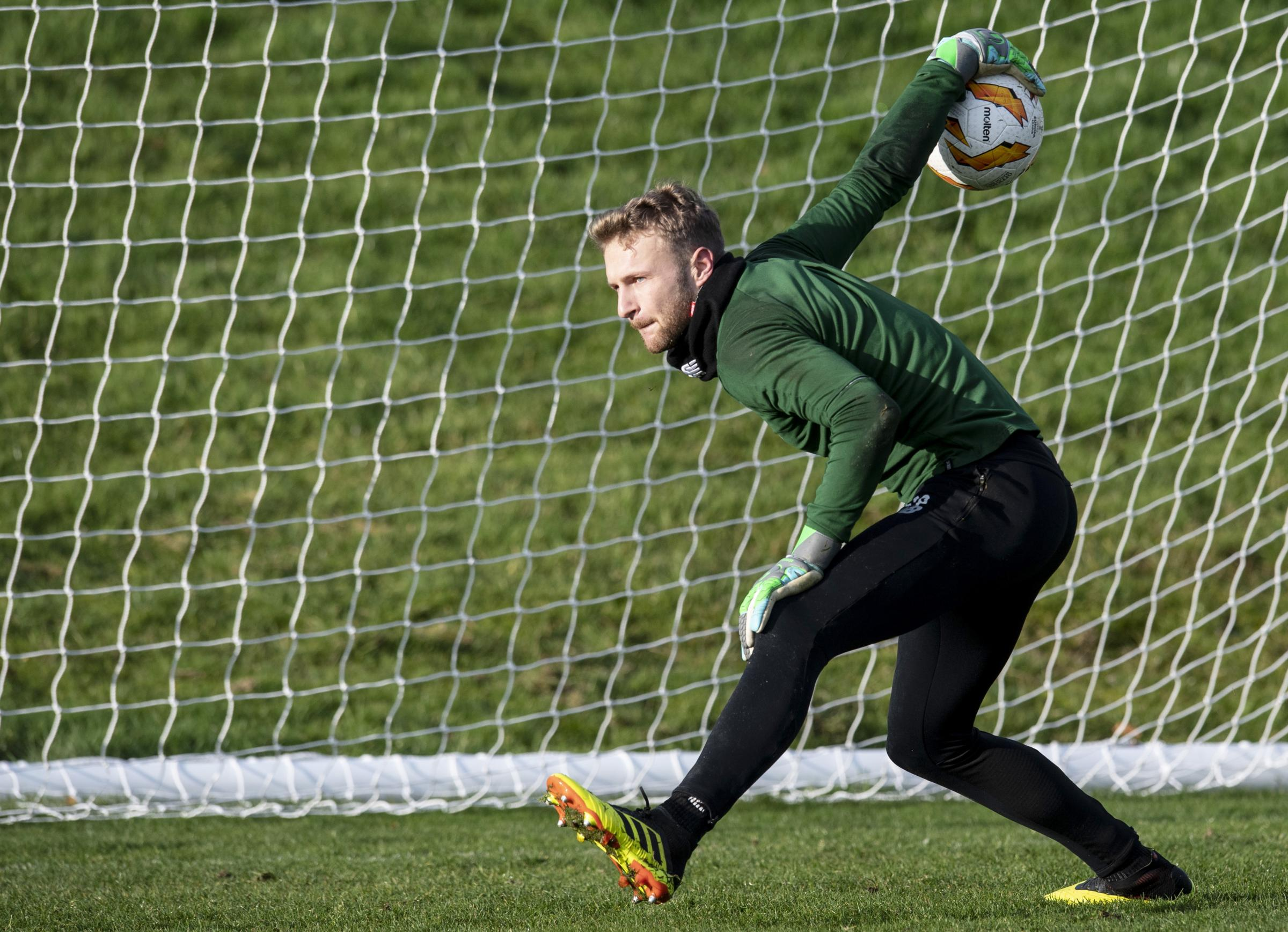 Scott Bain is expected to take the gloves for Scotland this week