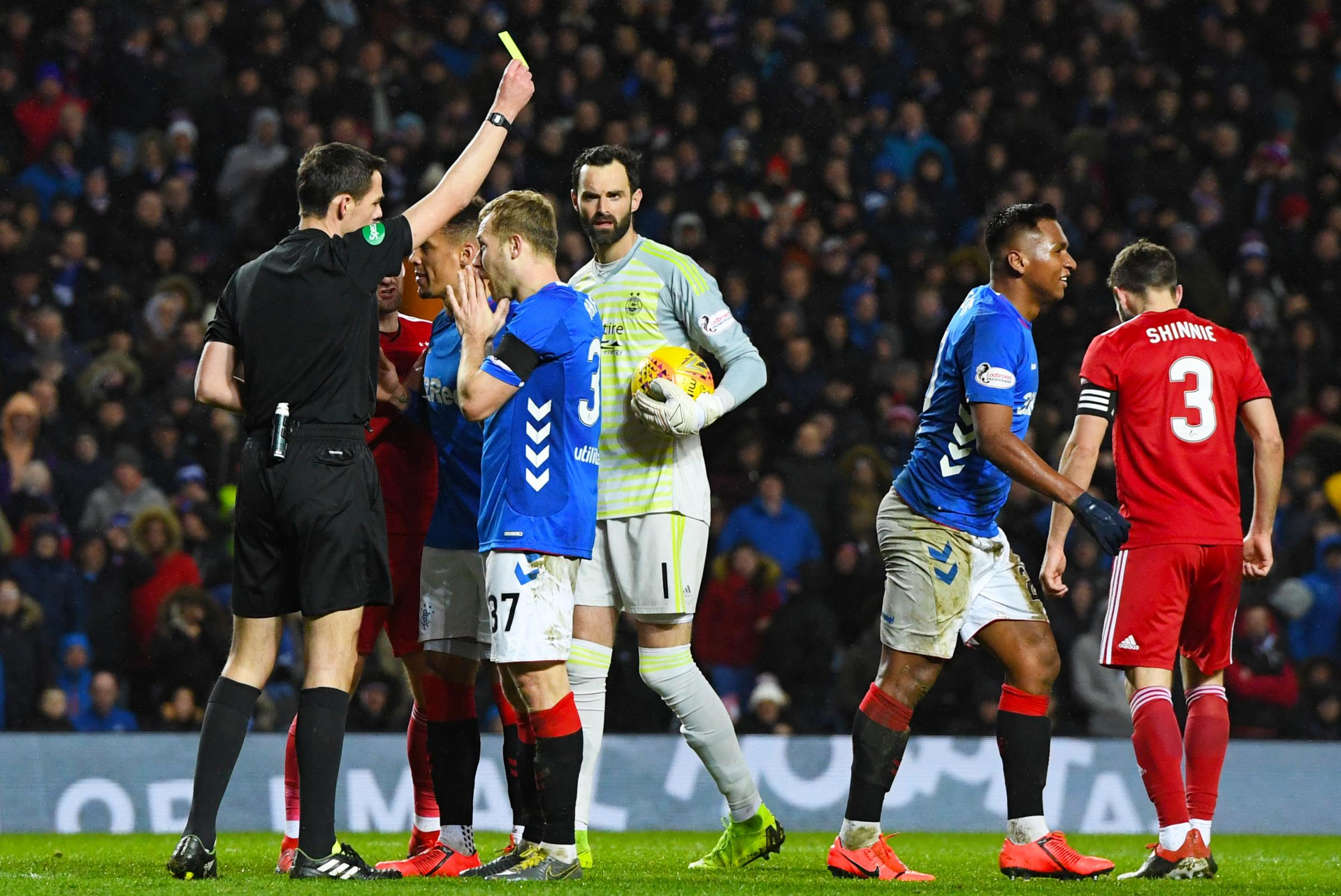 It was a foul! Steven Gerrard insists Rangers were right to appeal against Alfredo Morelos yellow