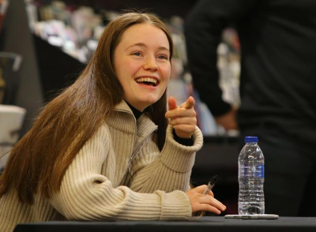 WATCH: Star singer Sigrid swarmed by Scots fans
