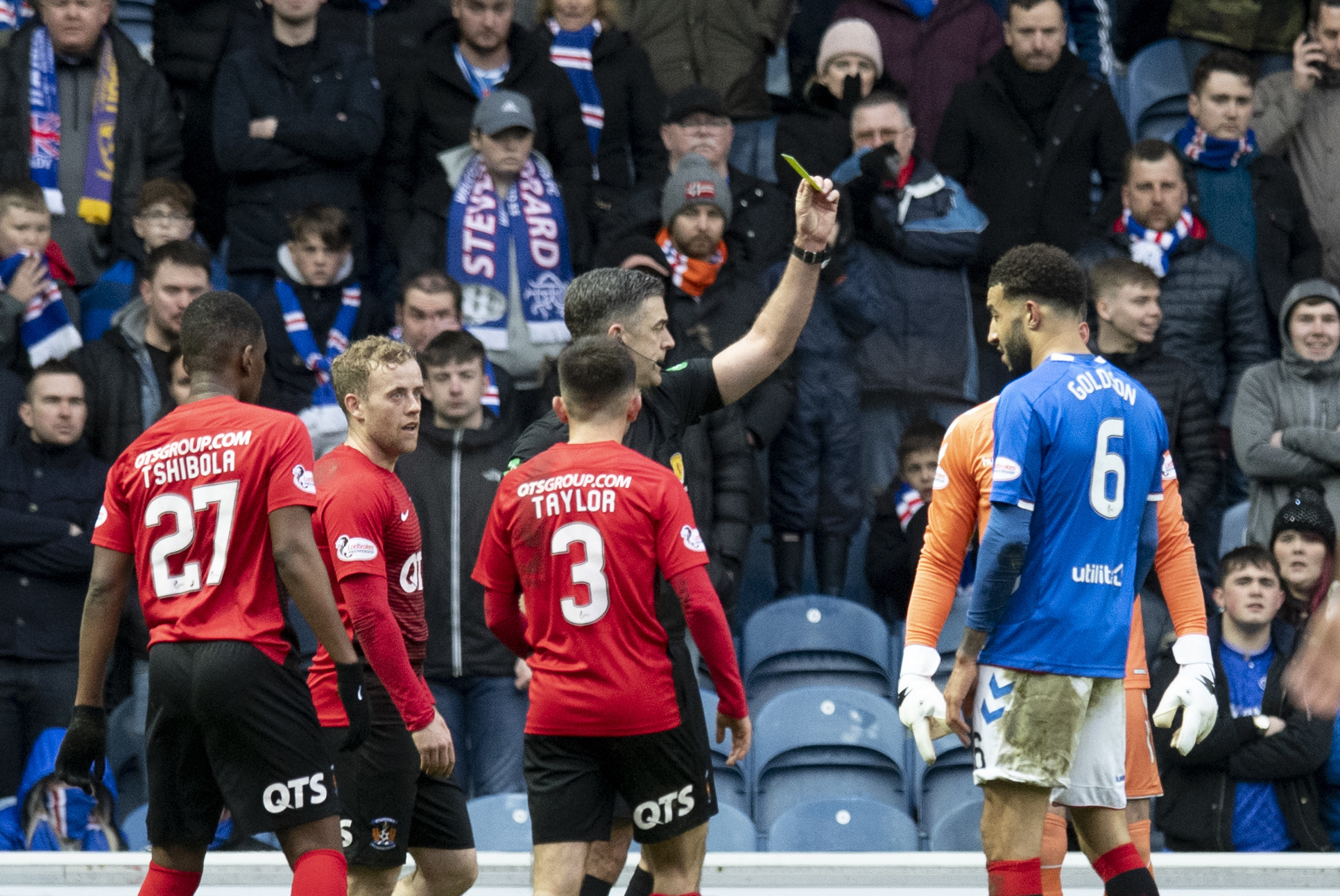 Gary Dicker: It takes bottle from a referee to make decisions against Rangers at Ibrox