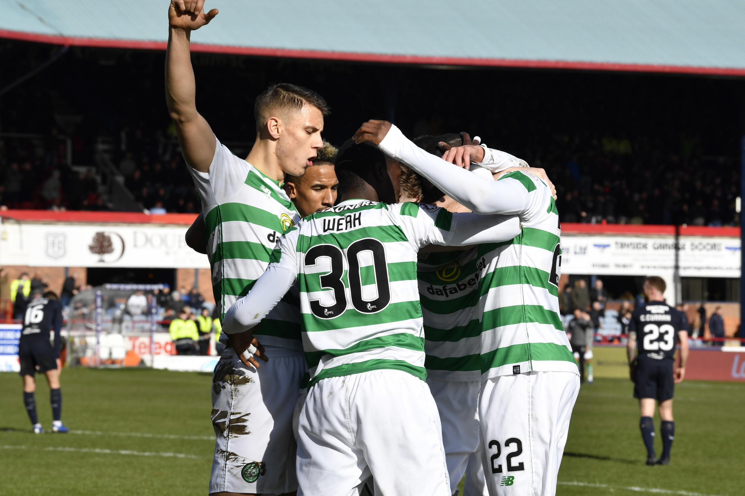 Neil Lennon off and running as Celtic go ten points clear at the top