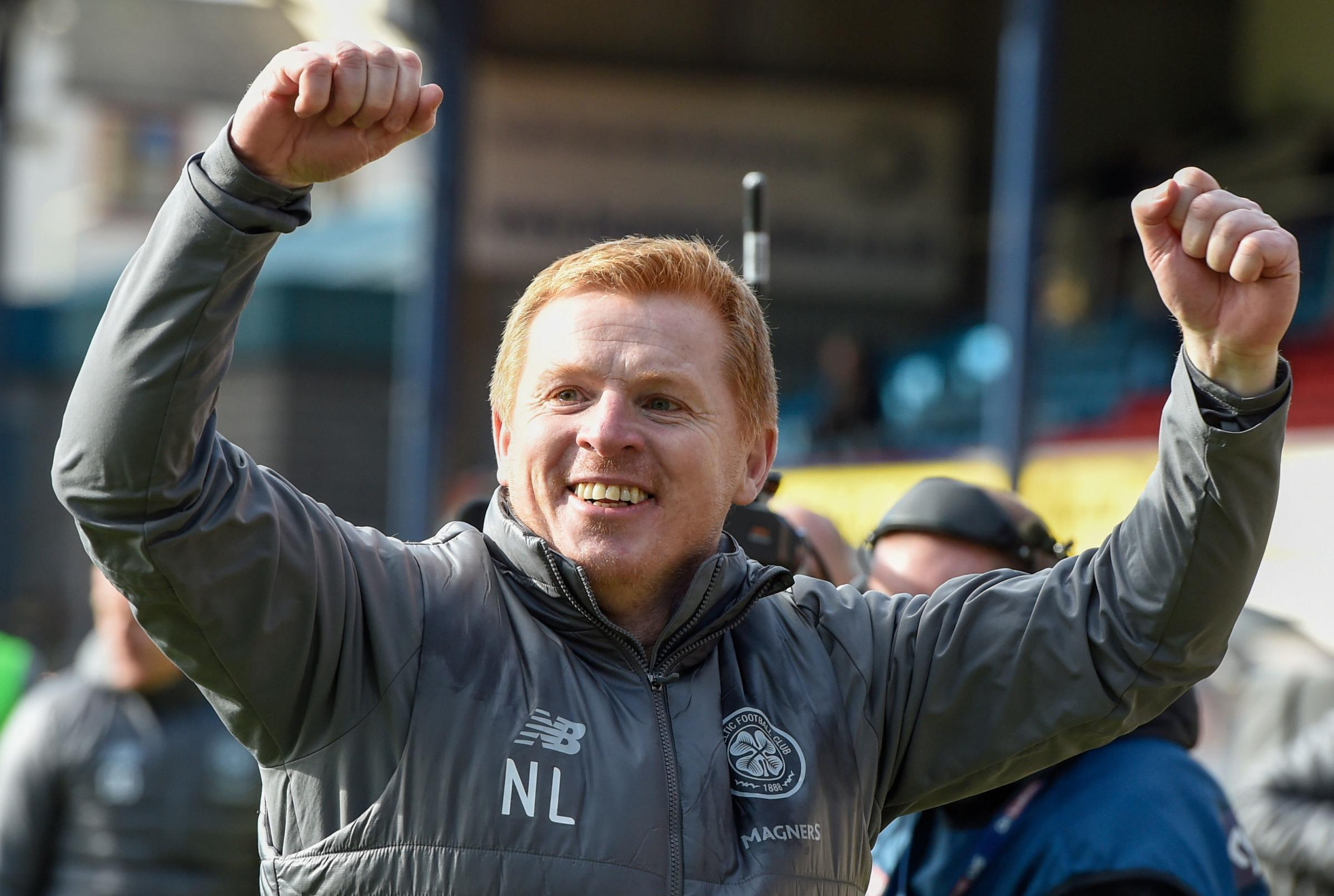 Neil Lennon: 10 points clear a huge psychological advantage ahead of Rangers clash