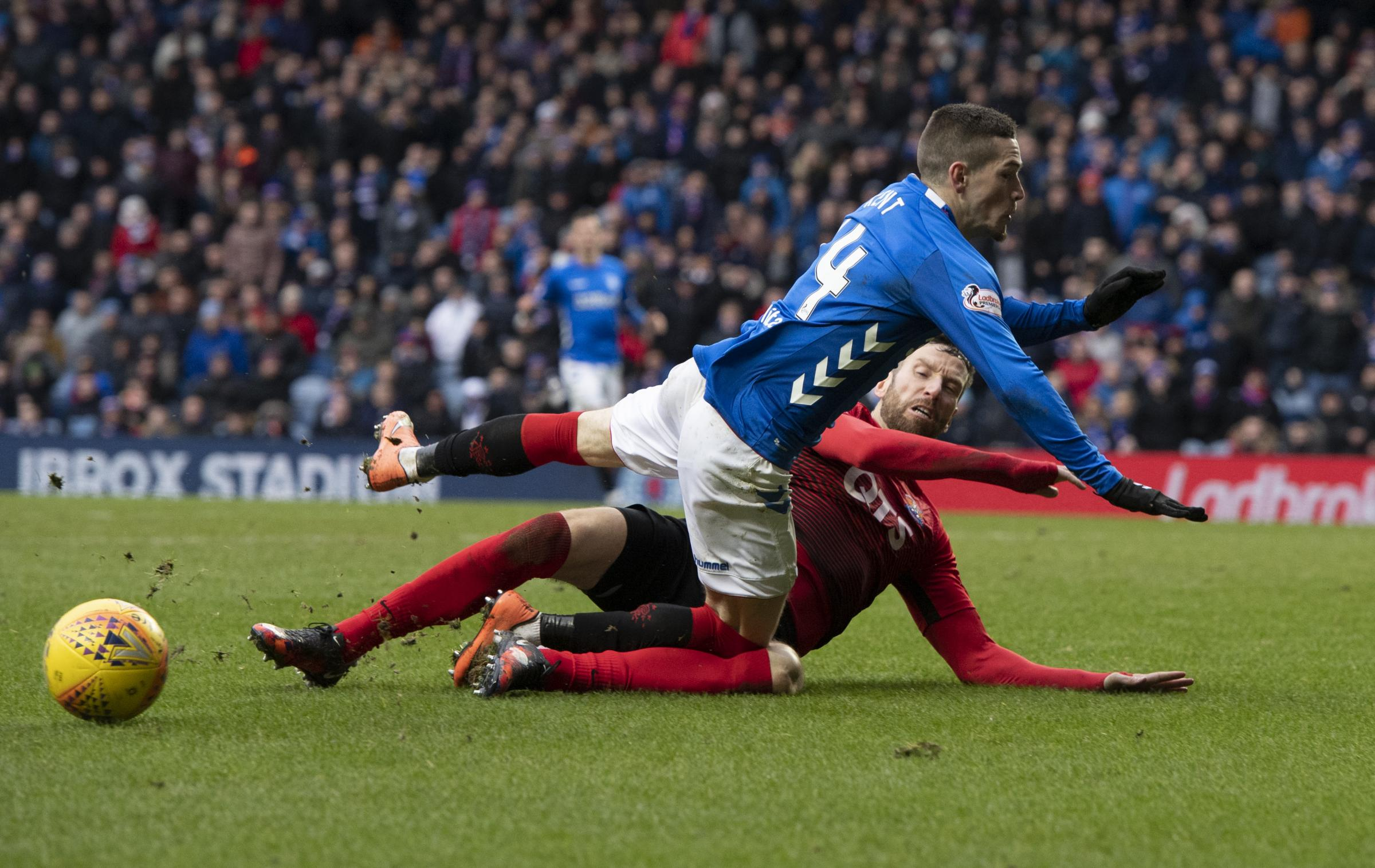 'Rugby team' Kilmarnock have made just 10 more fouls than Rangers this season