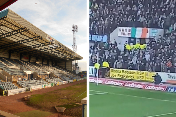 Full investigation to be held after flag pulled down during Dundee v Celtic