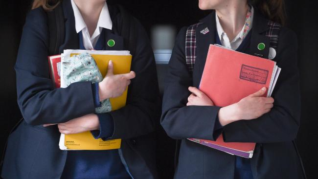 See the exam tables for South, North and East Ayrshire schools
