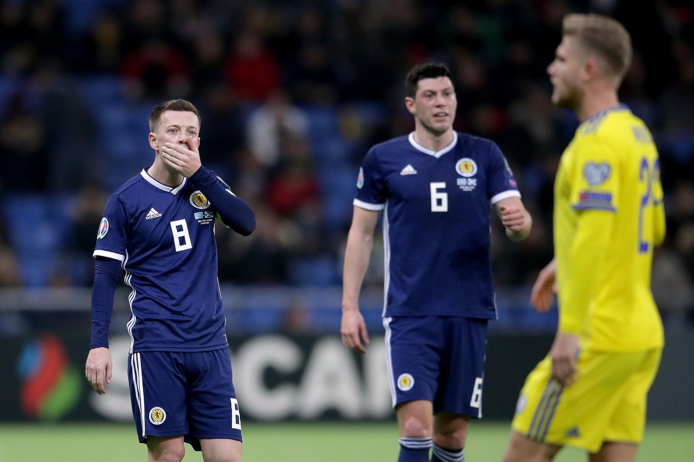 Callum McGregor admits Scotland players are to blame for defeat in Kazakhstan
