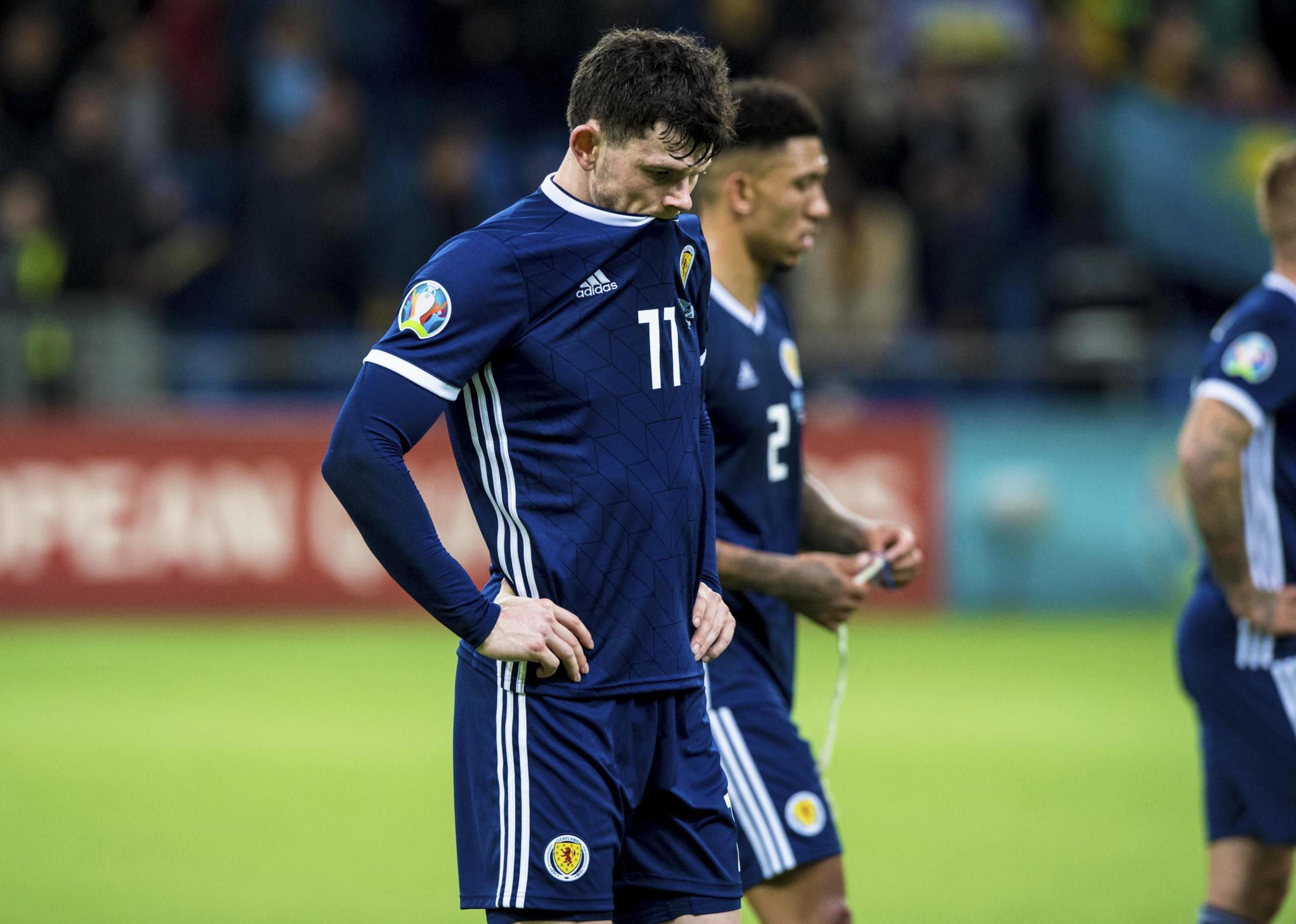 Oliver Burke: Scotland's players failed to carry out Alex McLeish's game plan - blame us not him