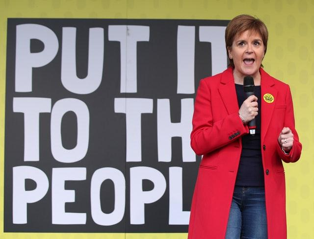 Independence activist promises 'never' to vote SNP again over Sturgeon picture