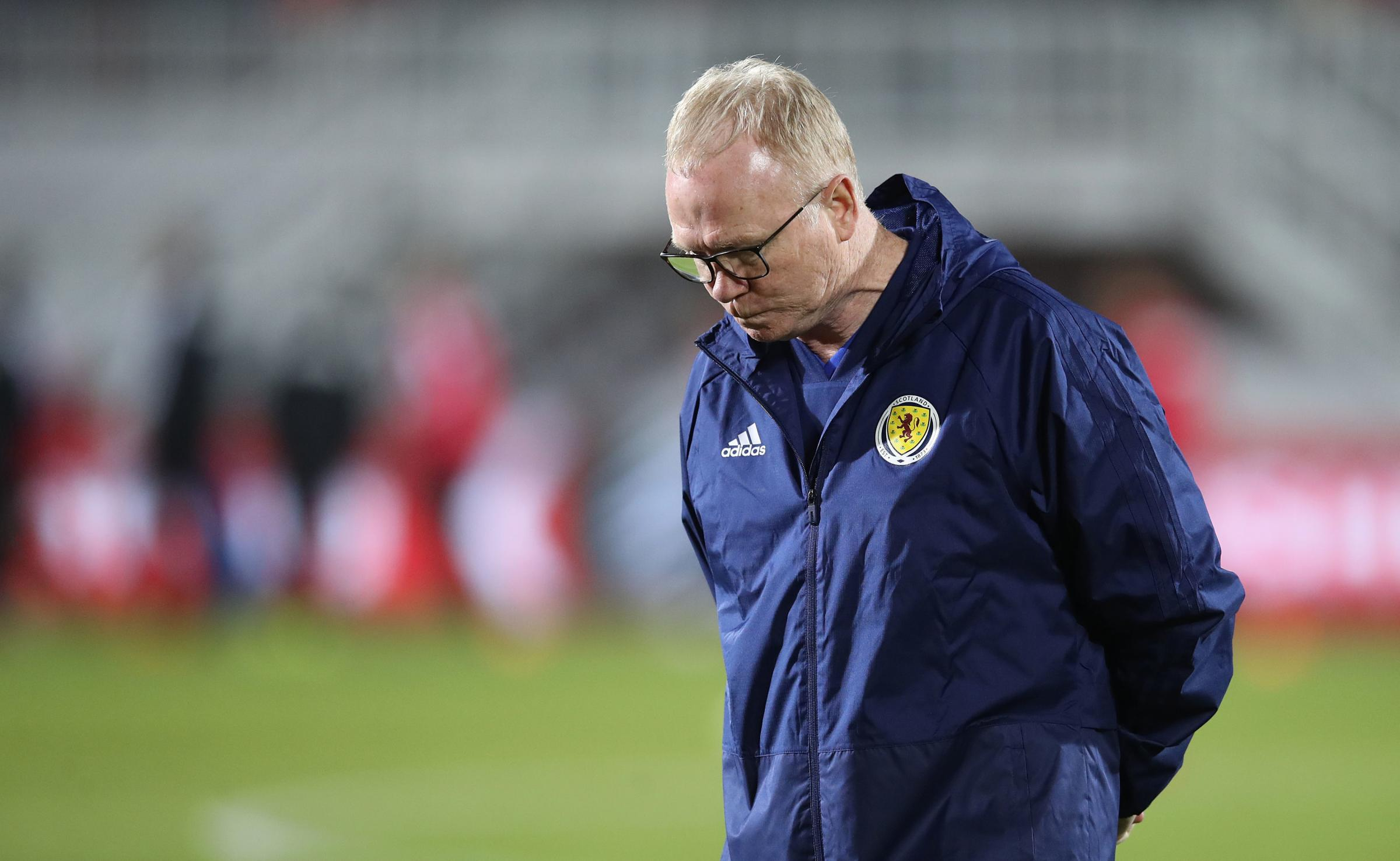 Scotland manager Alex McLeish will learn his fate today after a SFA meeting