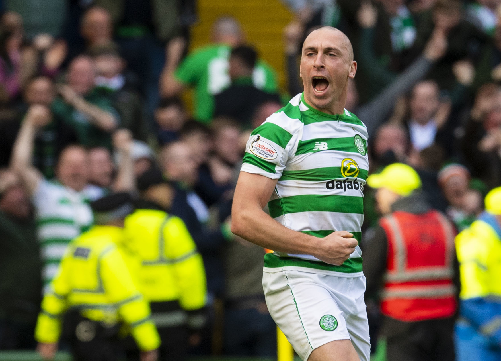 Scott Brown beat Rangers in more ways than one at Celtic Park