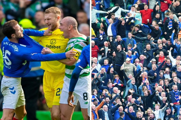 Police consult prosecutors over Scott Brown's 'goading' behaviour at Old Firm match