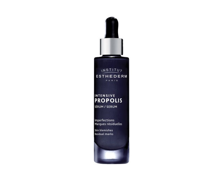 The serum works on skin blemishes and marks