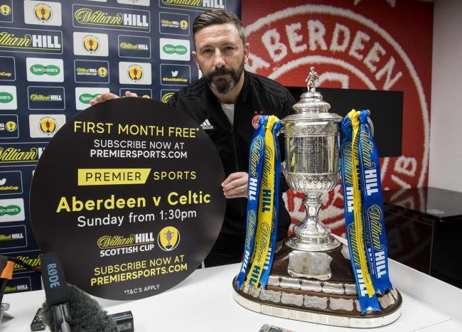Derek McInnes is taking confidence ahead of the Scottish Cup semi-final by his team's improved showings in Glasgow over the last couple of years.
