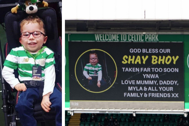 Celtic fan Shay McGinlay laid to rest