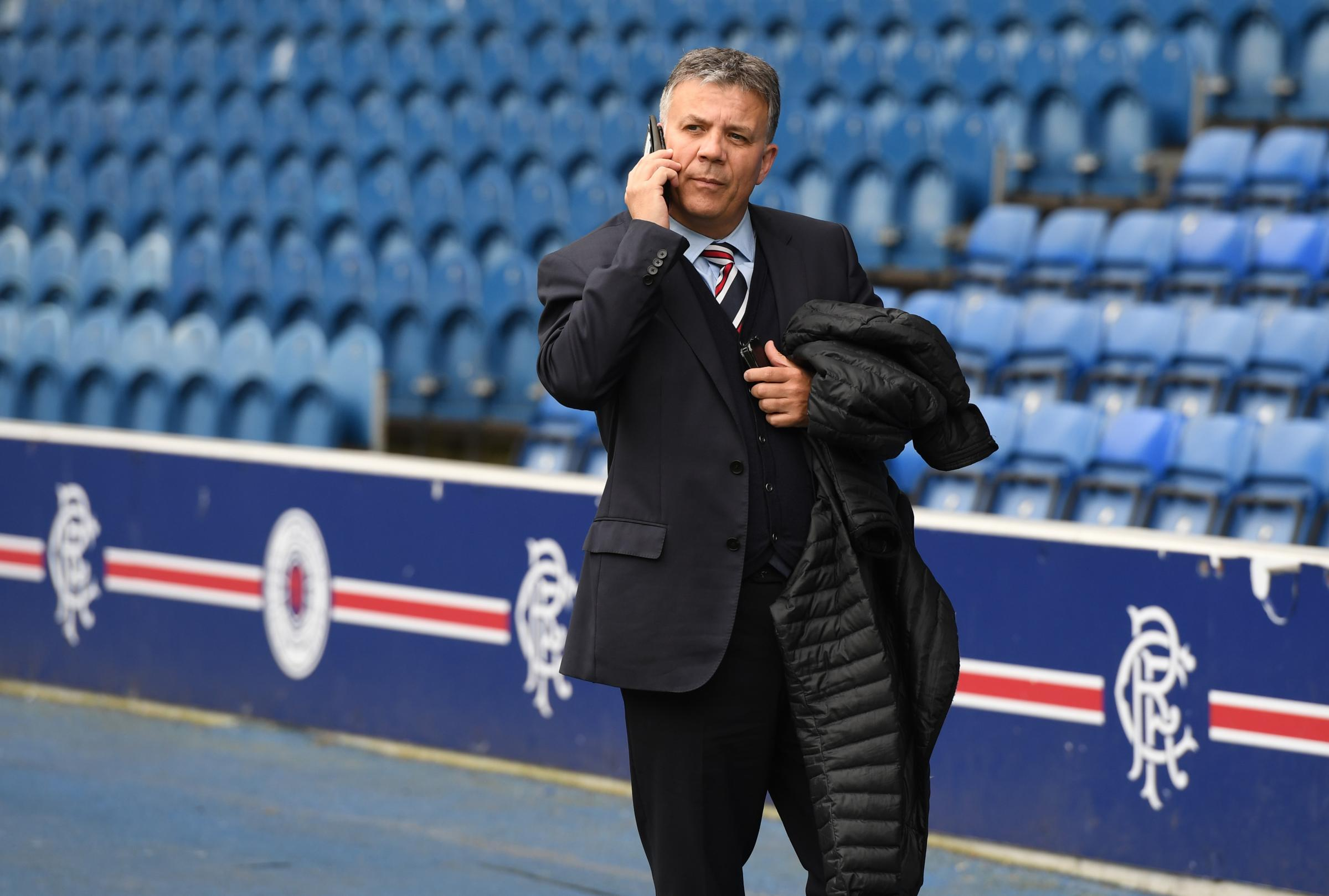 Rangers Director of Football Mark Allen