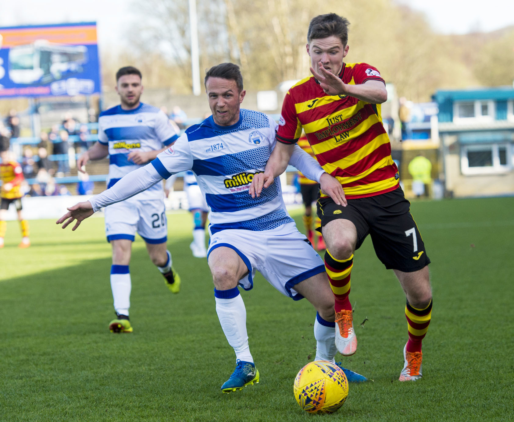 Blair Spittal is undaunted at the prospect of taking on league leaders Ross County.