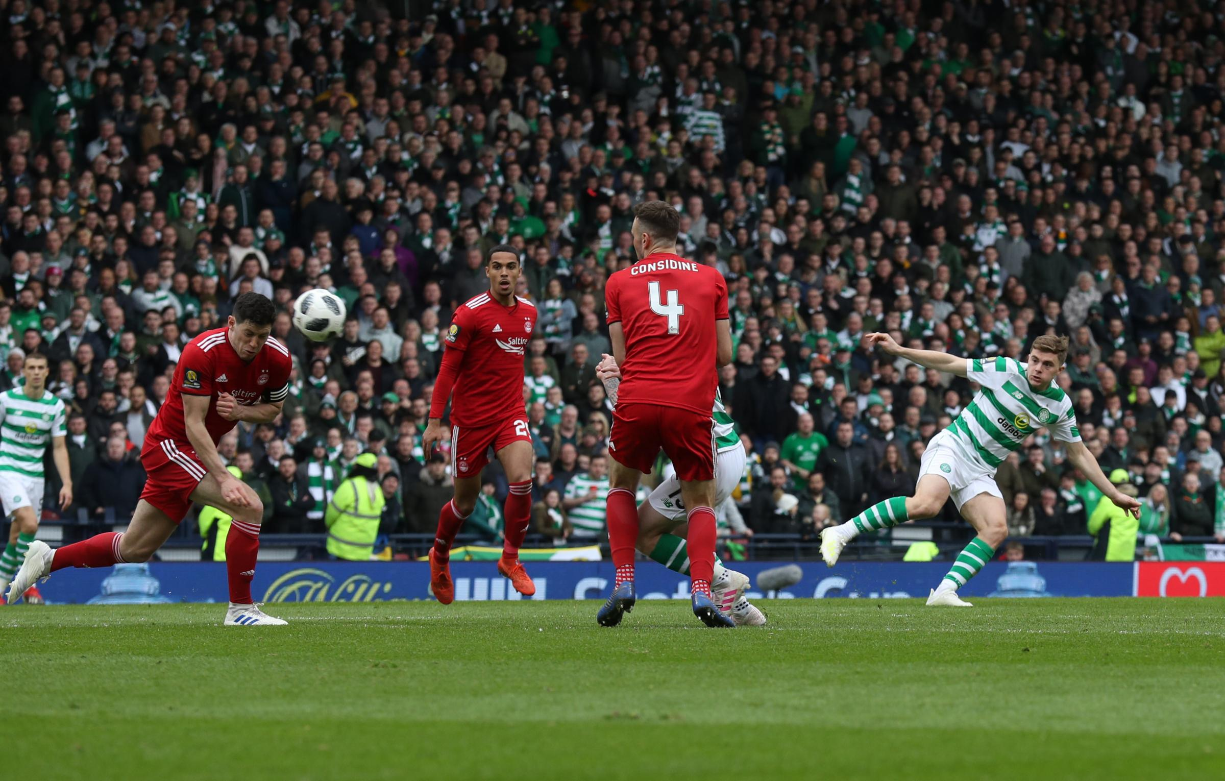 James Forrest scores a brilliant goal for Celtic at Hampden