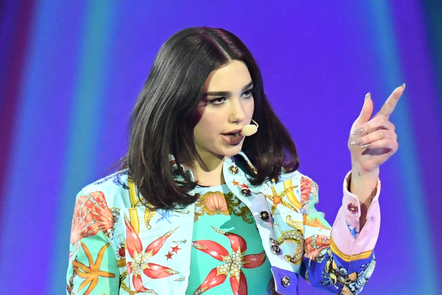 Dua Lipa on stage