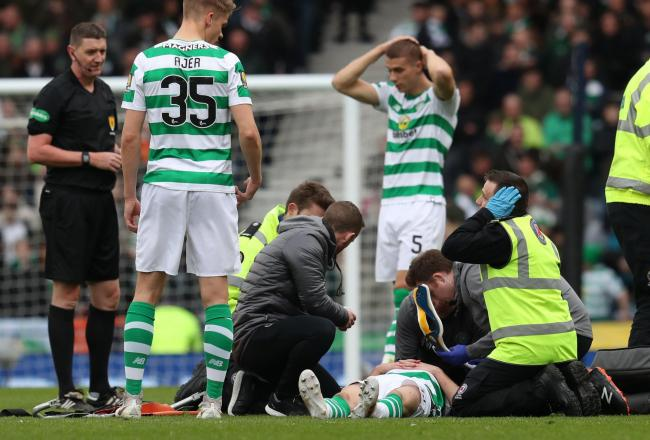 Ryan Christie has no recollection of the collision with Dom Ball that left him requiring major surgery to his face and head.