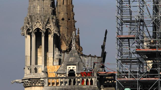 Macron's five-year plan to rebuild Notre Dame questioned