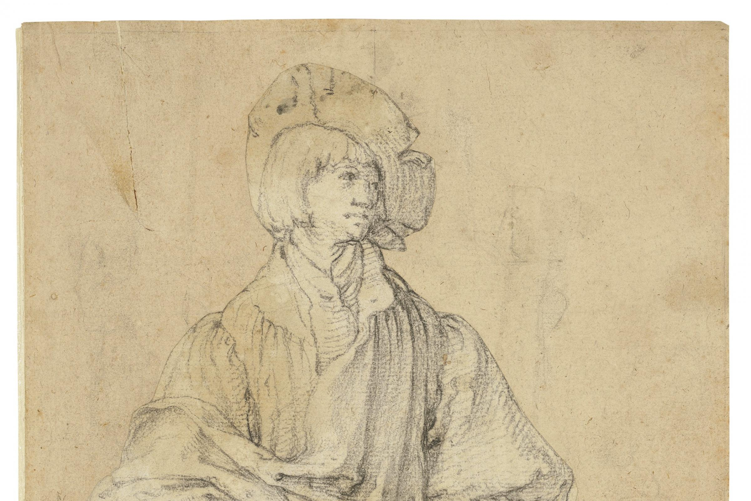 A Young Man Standing, by Dutch artist Lucas van Leyden