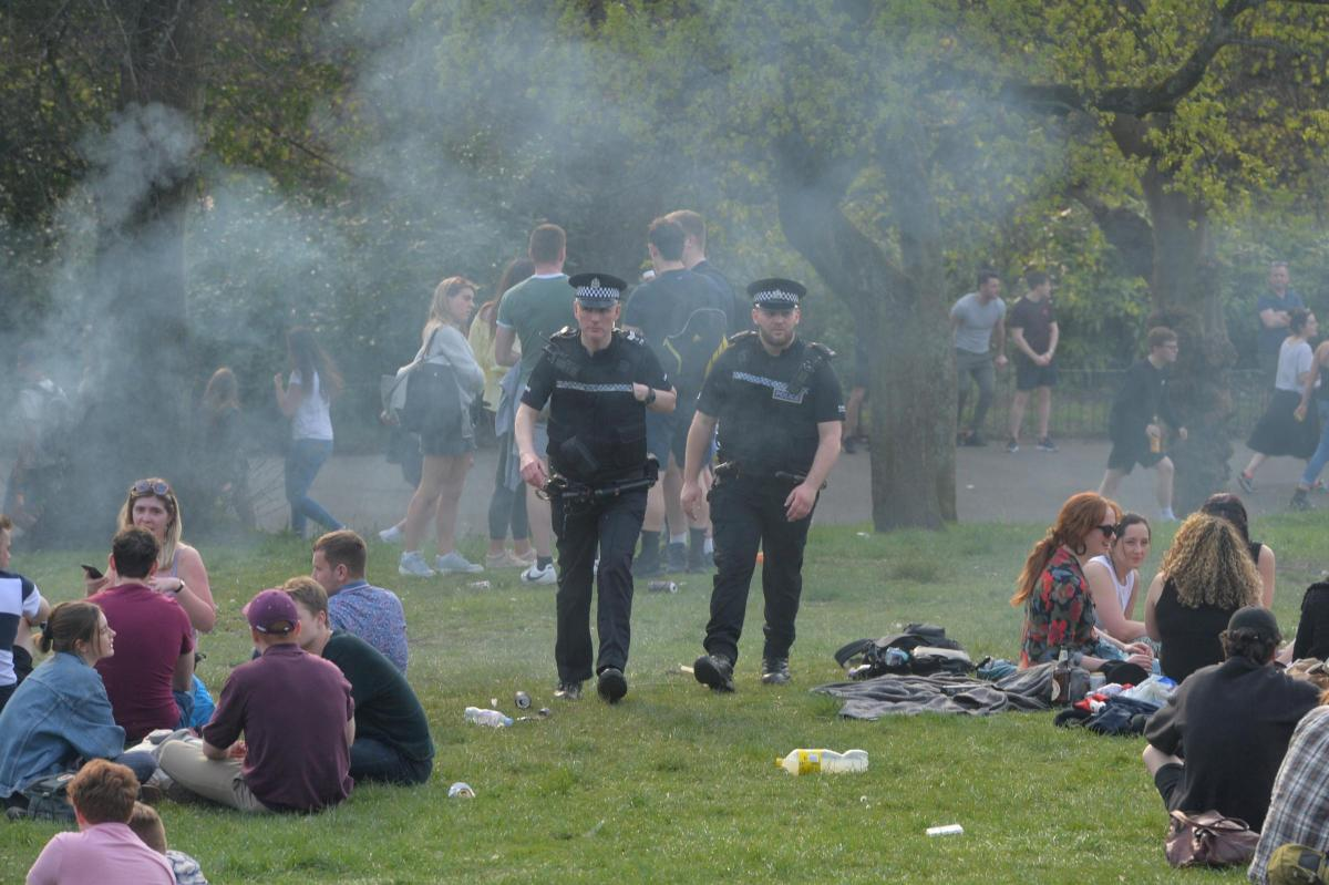 Four teenagers arrested over disturbance at Kelvingrove Park in Glasgow