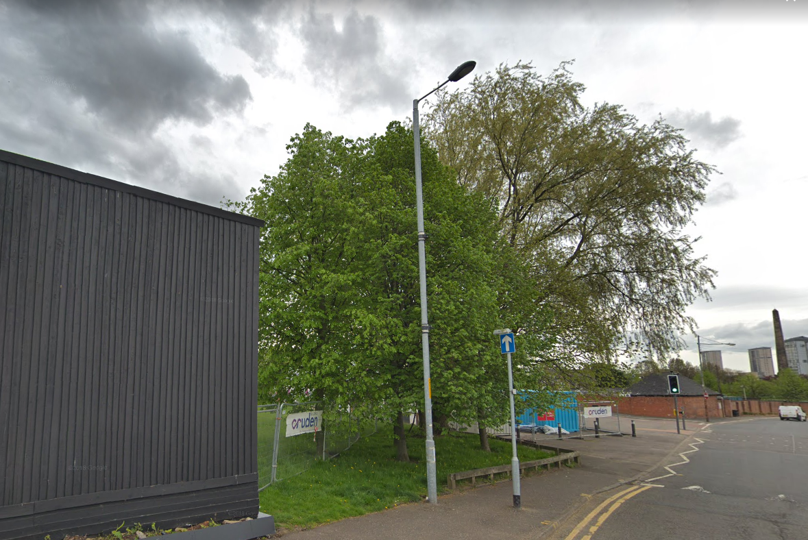 Wooded area close to Glasgow's Barras cordoned off by police