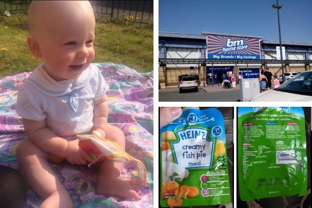 Mum's 'disgust' after city B&M store sold her out-of-date baby food