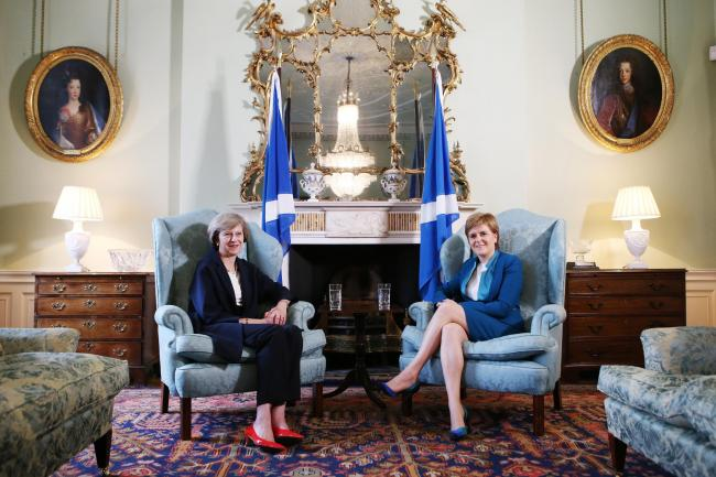 Theresa May 'will block new independence referendum'