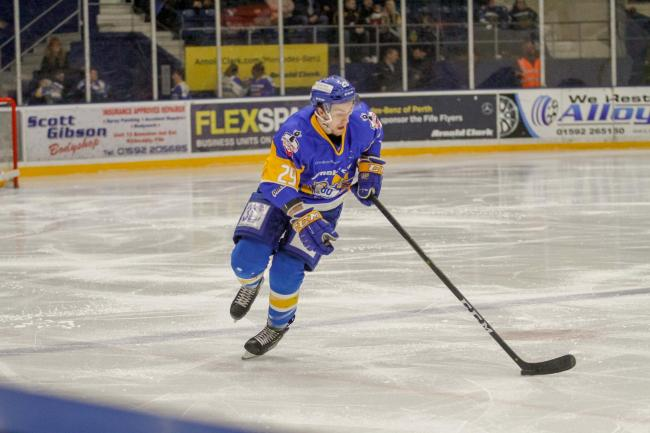 Craig Moore has arrived from Fife Flyers. Picture: Jillian McFarlane