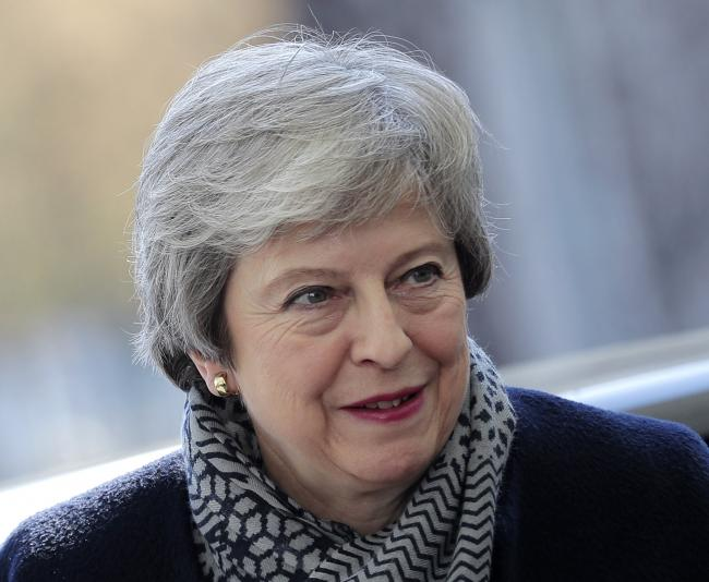 Prime Minister May has said Scotland cannot have another independence referendum (AP photo)