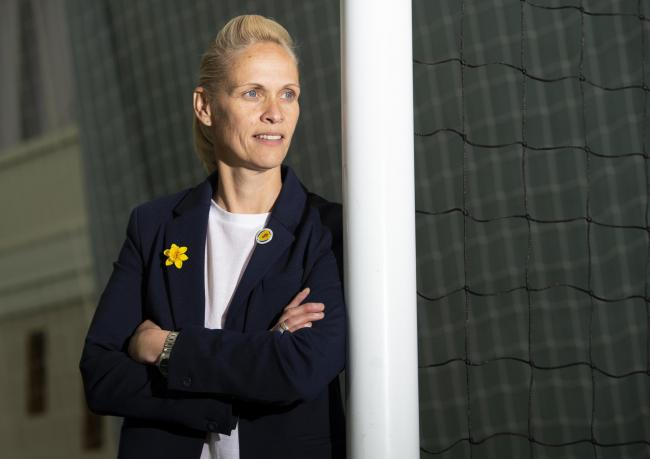 Scotland women's team manager Shelley Kerr has been shortlisted for the award PHOTO: SNS