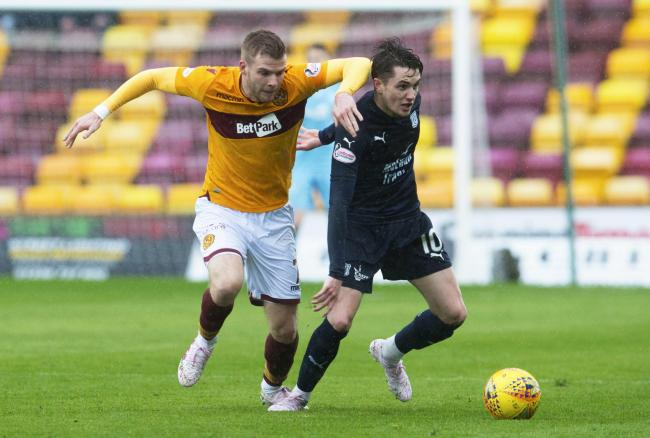 Motherwell's Chris Cadden could be set for a move to Oxford United.