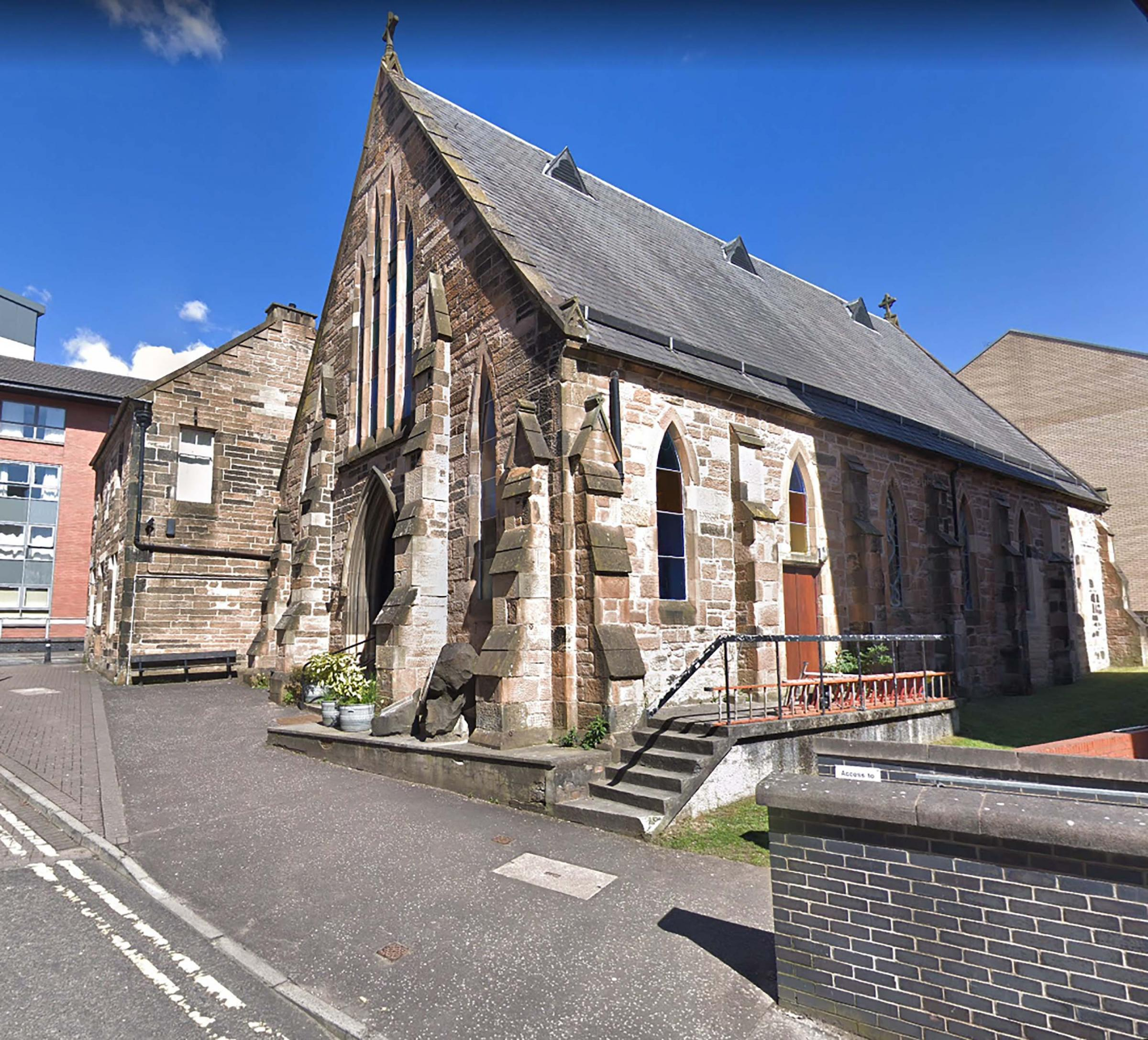 Glasgow's Catholic community reacts to attack on historic church