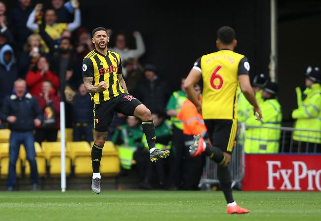 Rangers are interested in Watford striker Andre Gray PHOTO: PA