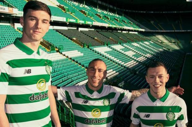 57047ac2e5750 Celtic unveil new kit for next season | Evening Times