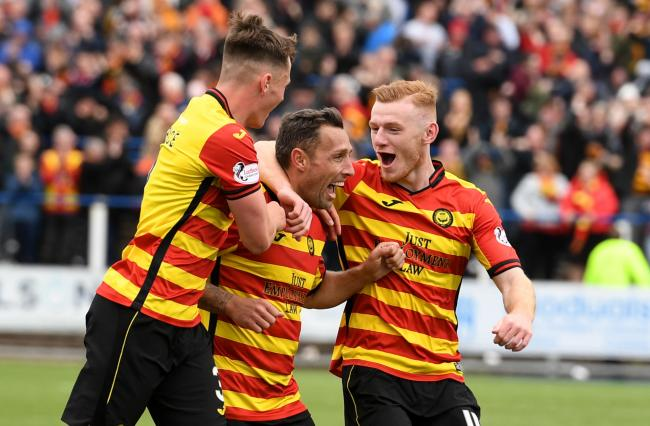 Scott McDonald has fallen back in love with football at Partick Thistle.